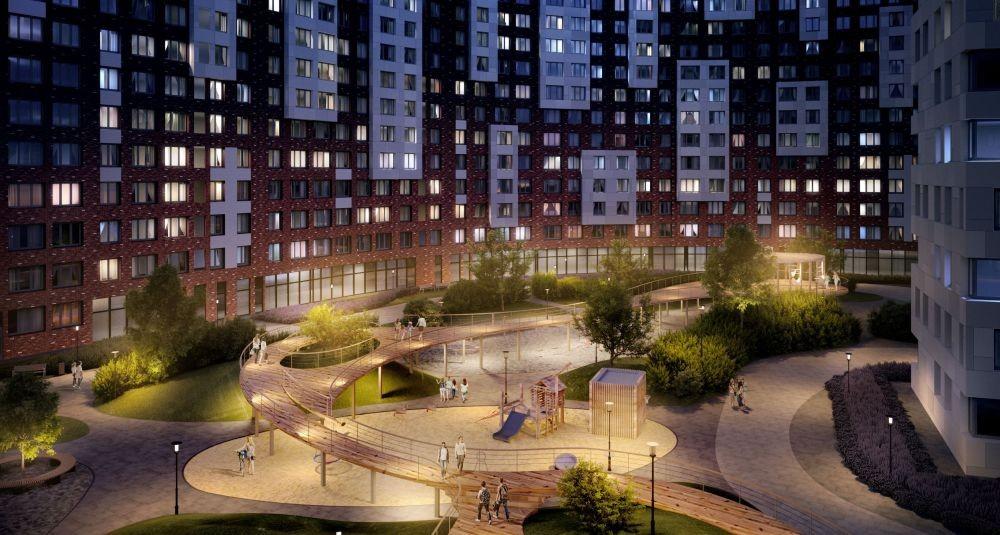 Площадки ЖК Румянцево-Парк