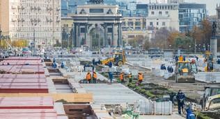 Власти Москвы отказались от мероприятий по благоустройству на 13 млрд рублей