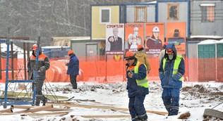 Демонтаж строительного городка не помешает принимать пациентов в Вороновском COVID-центре