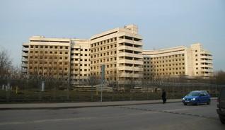 Недостроенное здание Ховринской больницы, Москва