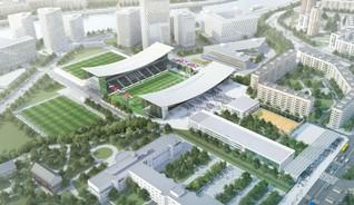 Проект реновации территории стадиона Торпедо