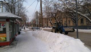 Балашиха после снегопада