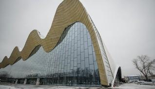 """Центр художественной гимнастики в """"Лужниках"""""""