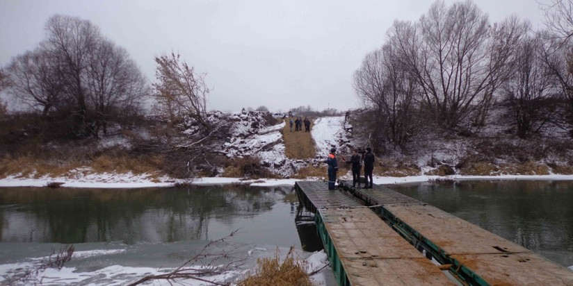 Механизированный мост отправили вПриморье изНовосибирска