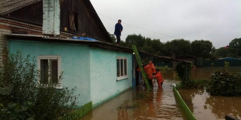 Последствия тайфуна в Приморье