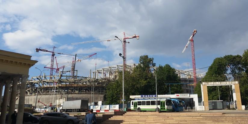 Около метро «Динамо» появится концертно-спортивный зал
