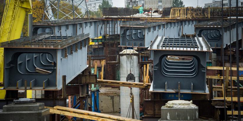 Развязку МКАД— Профсоюзная улица планируют достроить кконцу 2017г.