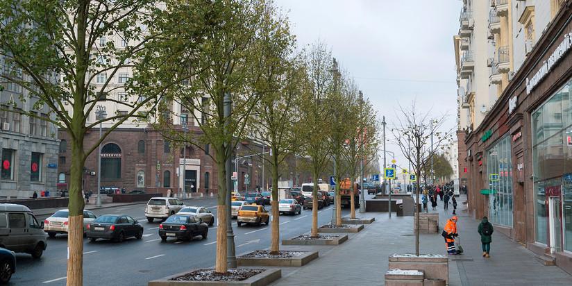 В этом 2017-ом в российской столице будут сделаны неменее 50 новых парков— Собянин