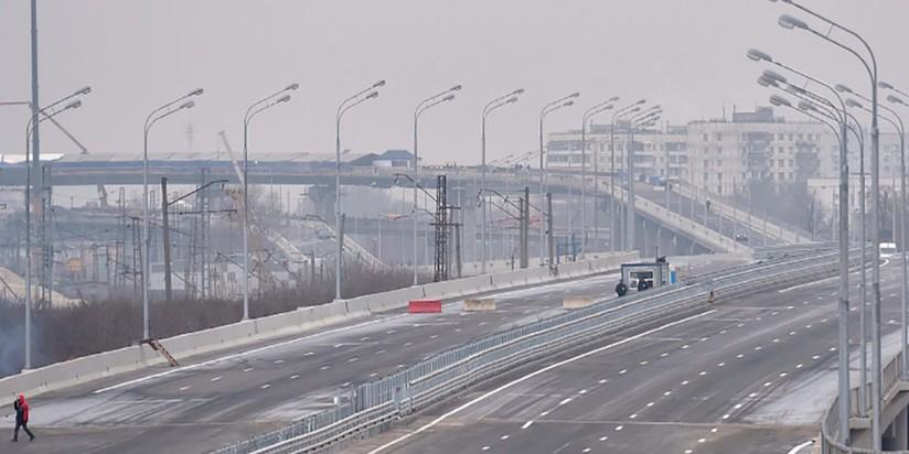 Дорожное строительство в Москве