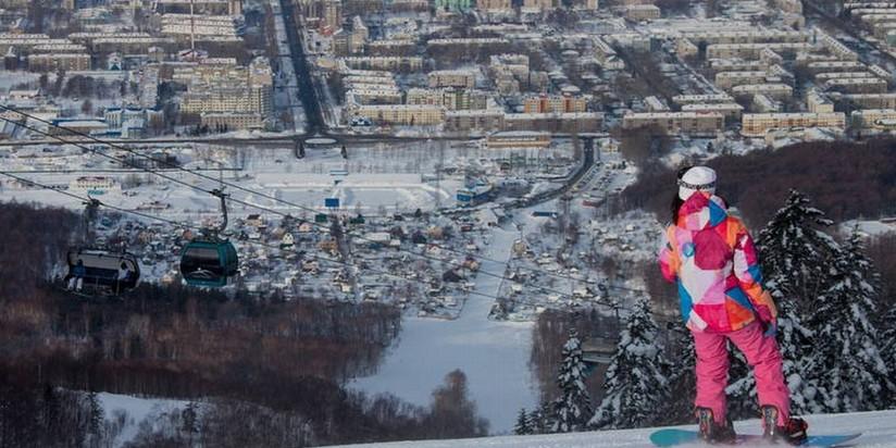В новейшей российской столице построят три горнолыжных дороги