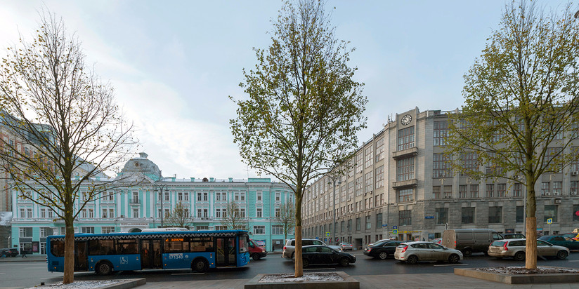 Замену плитки наМанежной площади произведут вмае-июне
