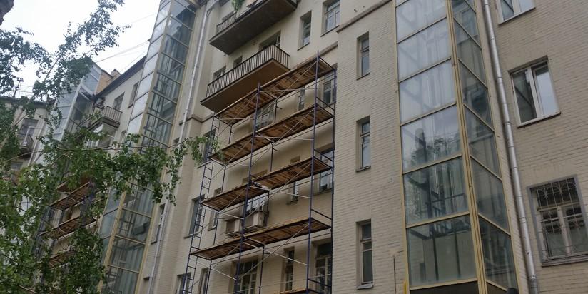 Ремонт здания в Москве