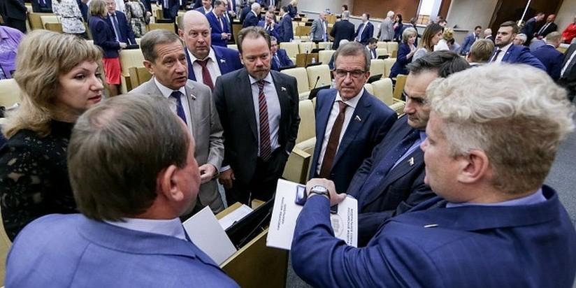 В помещении  Государственной думы  протекла крыша