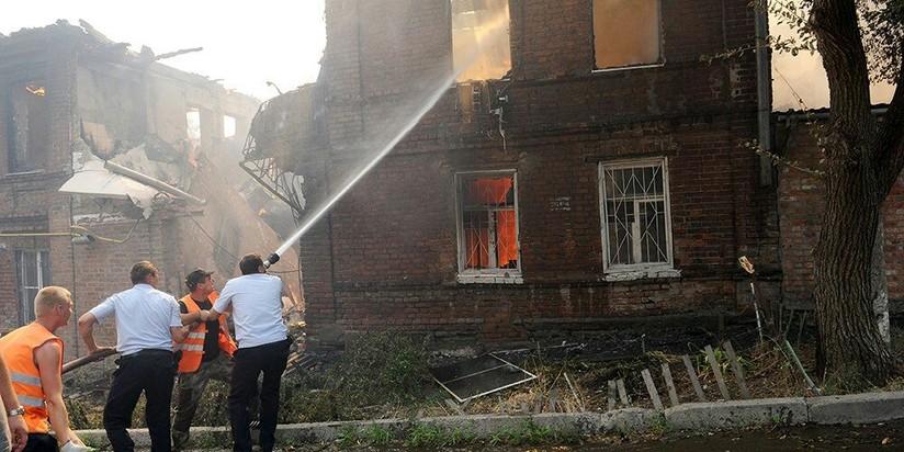 Пострадавшим впожаре вРостове-на-Дону выделят 259 млн из государственного бюджета