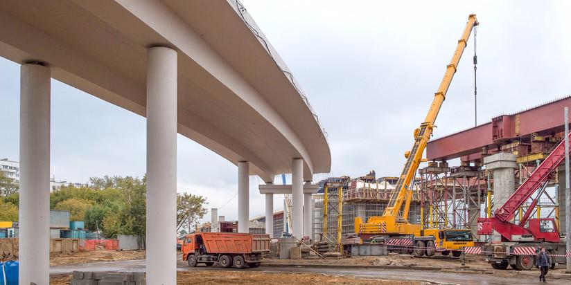 Строительство участка Северо-Восточной хорды (СВХ) от шоссе Энтузиастов до МКАД