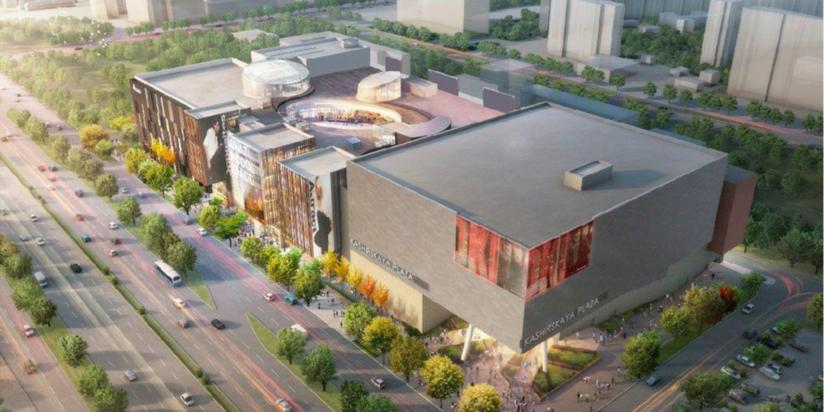 Власти столицы одобрили имидж торгового центра Enka наКаширском шоссе