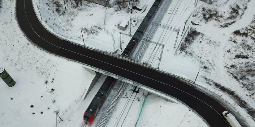 В столице России вновь открылся реконструированный Богородский путепровод