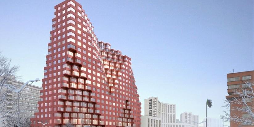 Проект комплекса сапартаментами врайоне проспекта Академика Сахарова одобрили в столицеРФ