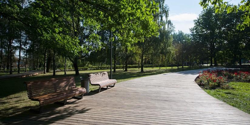 Парк 50-летия Октября после благоустройства