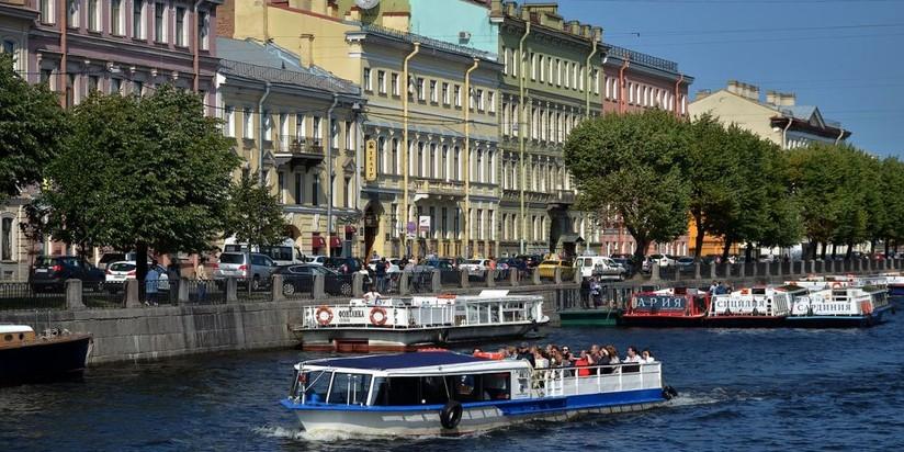 Речные пароходы_Петербург