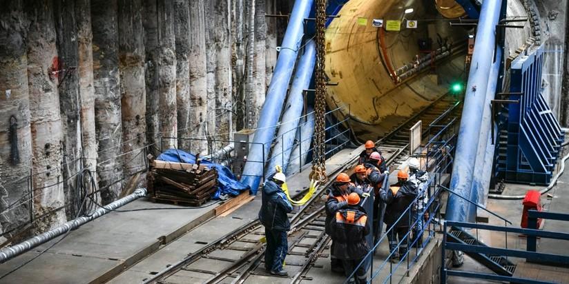 Проходка тоннеля БКЛ метро
