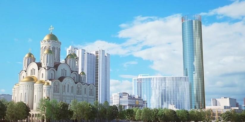 Проект собора Святой Великомученицы Екатерины
