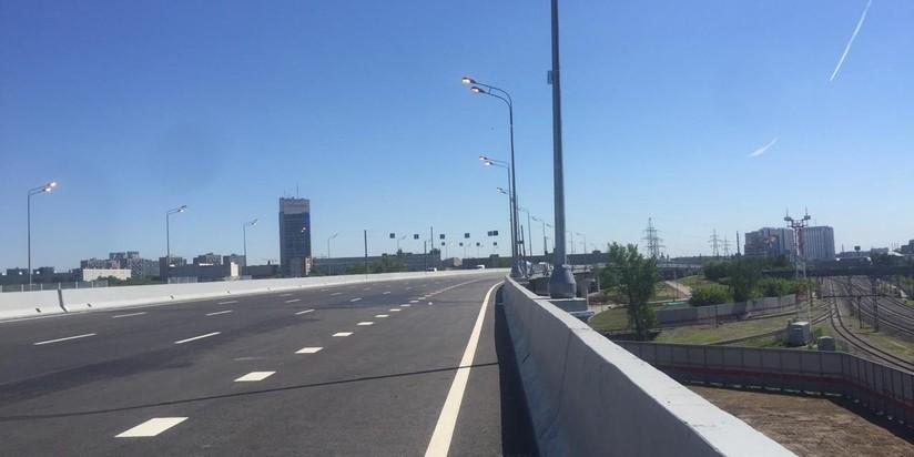 Участок СВХ от Лосиноостровской улицы до Открытого шоссе