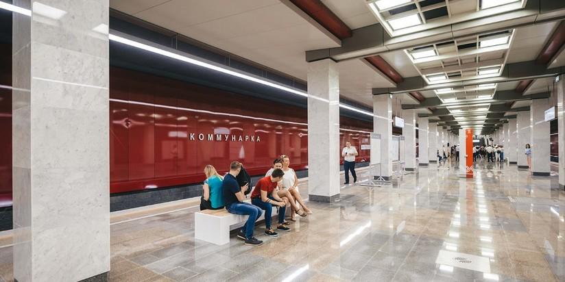 Станция Коммунарка Сокольнической линии метро