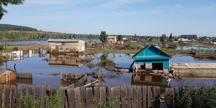 Паводок в Тулуне