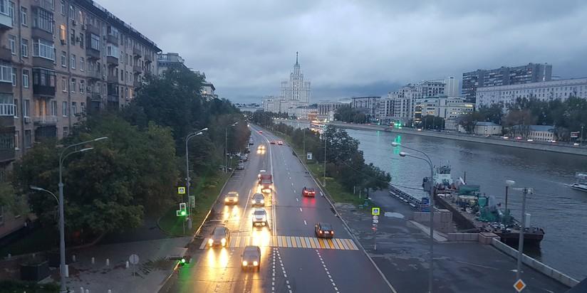 Москва-река, набережная