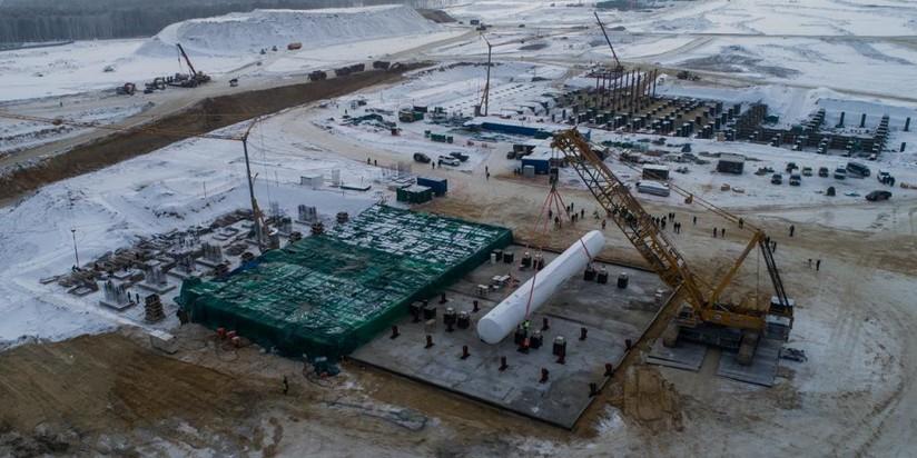 """Строительство космодрома """"Восточный"""""""