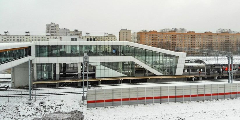 ТПУ между платформой НАТИ и станцией МЦК Лихоборы