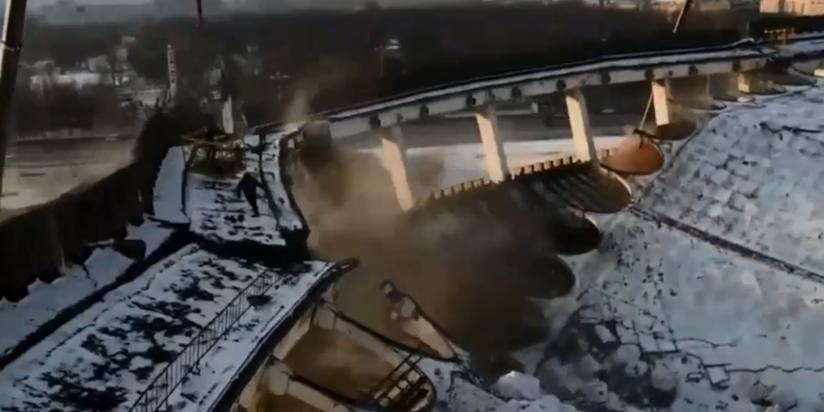 """Обрушение СКК """"Петербургский"""""""