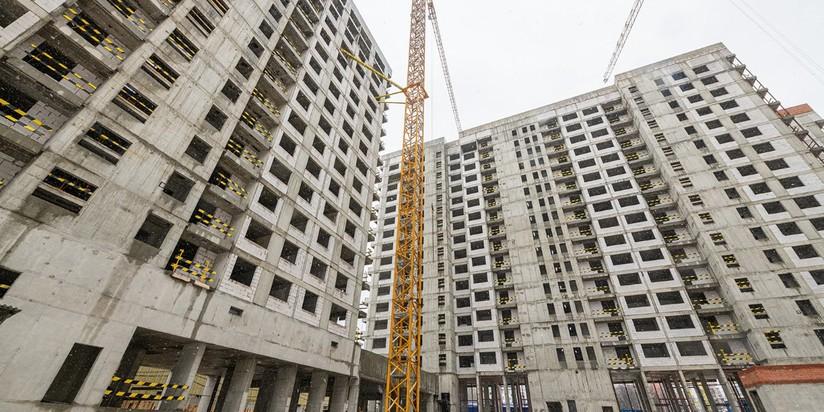 Строительство жилья, новостройка
