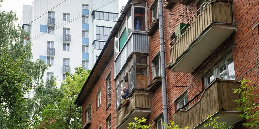 Пятиэтажка, реновация