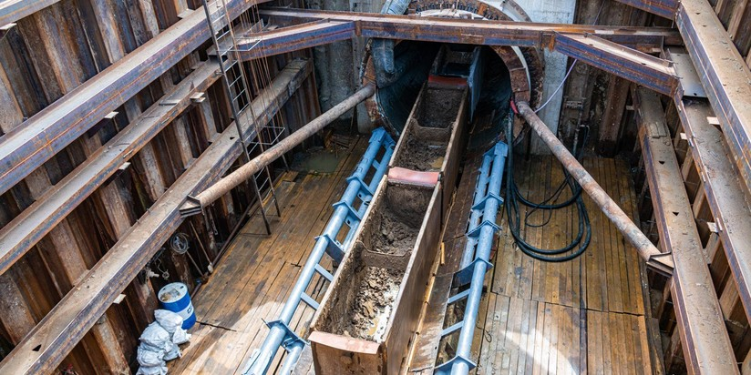 Реконструкция Филевского канализационного канала