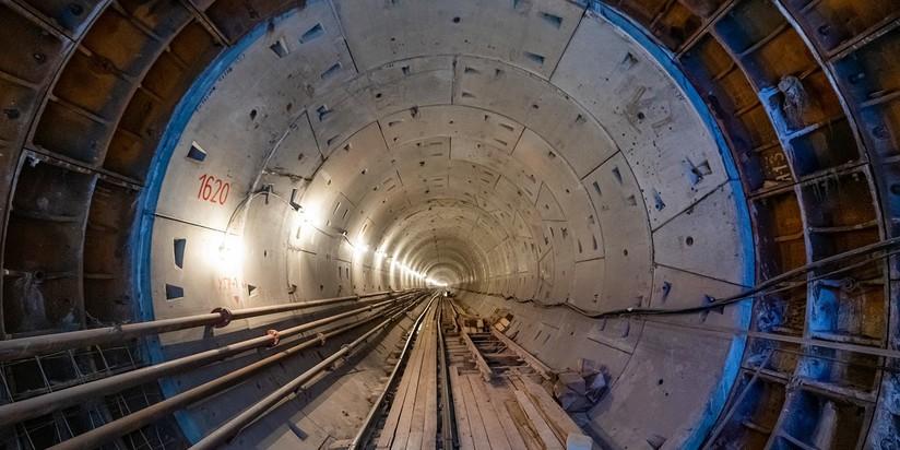 Проходка тоннеля на северно-восточном участке БКЛ метро