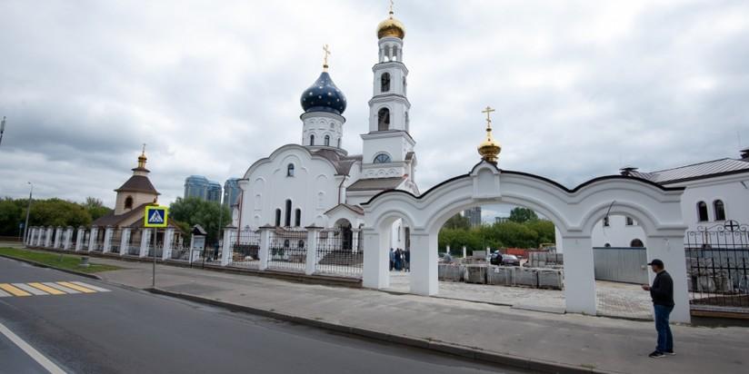 Главный храм МЧС России Смоленской  иконы Божией Матери