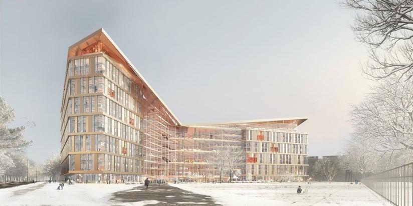 Проект штаб-квартиры Яндекса