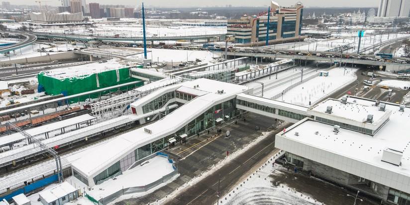 Строительство Восточного железнодорожного вокзала в Москве