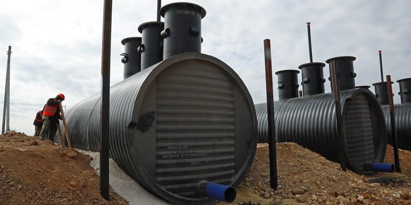 Строительство Бештерек-Зуйского водовода и водозабора