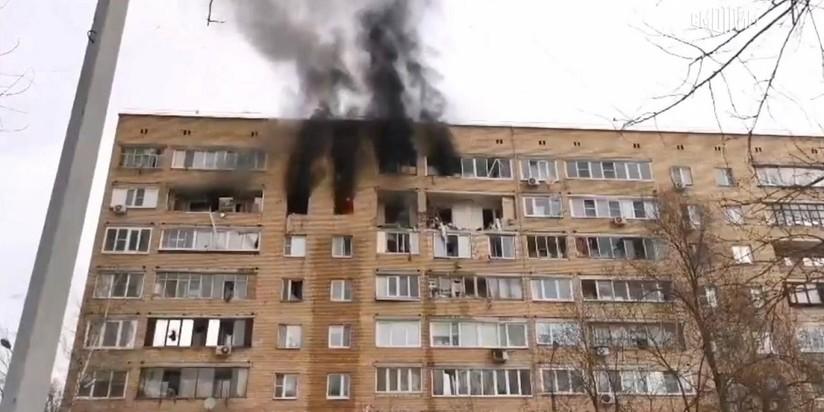 Взрыв газа в Химках