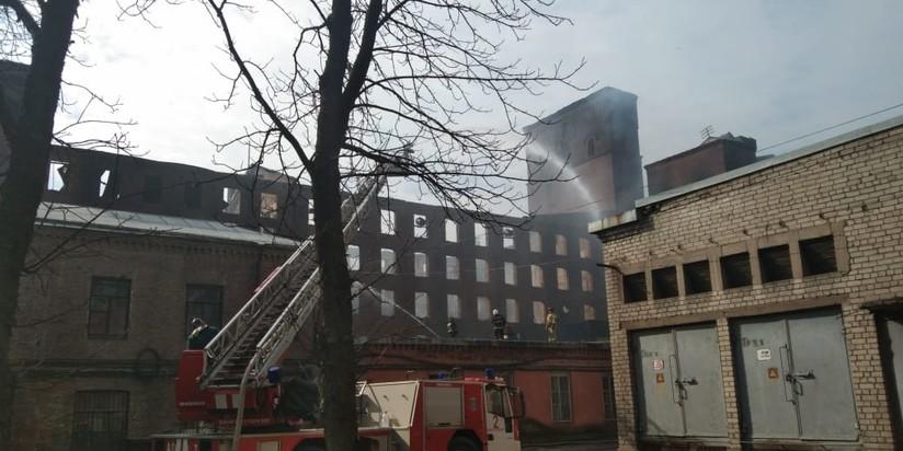 Пожар в Невской мануфактуре
