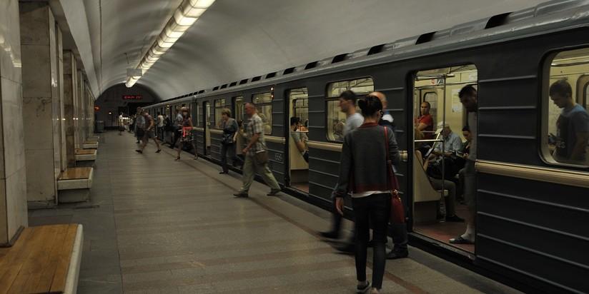 """Станция """"Университет"""" Сокольнической линии метро"""