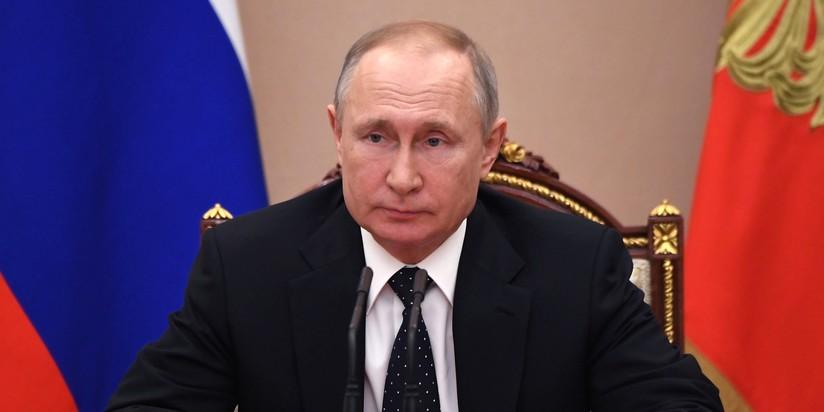 Предидент РФ Владимир Путин