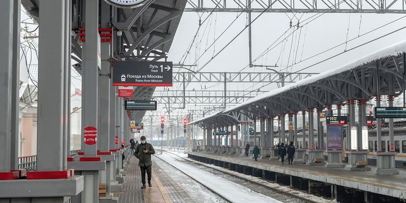 Станция МЦД-2 Подольск