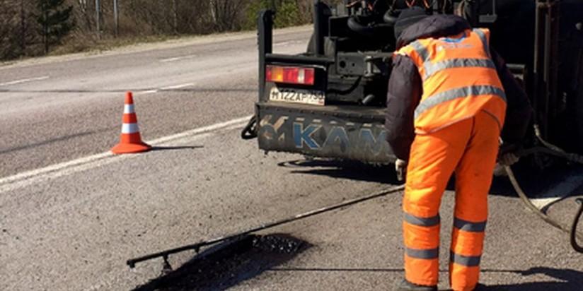 ВМосковской области навсе 100% завершен ремонт дорог на текущий 2017 год
