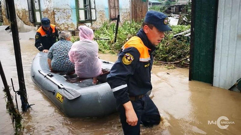 дачный участок помощь в зону наводнения расскажем